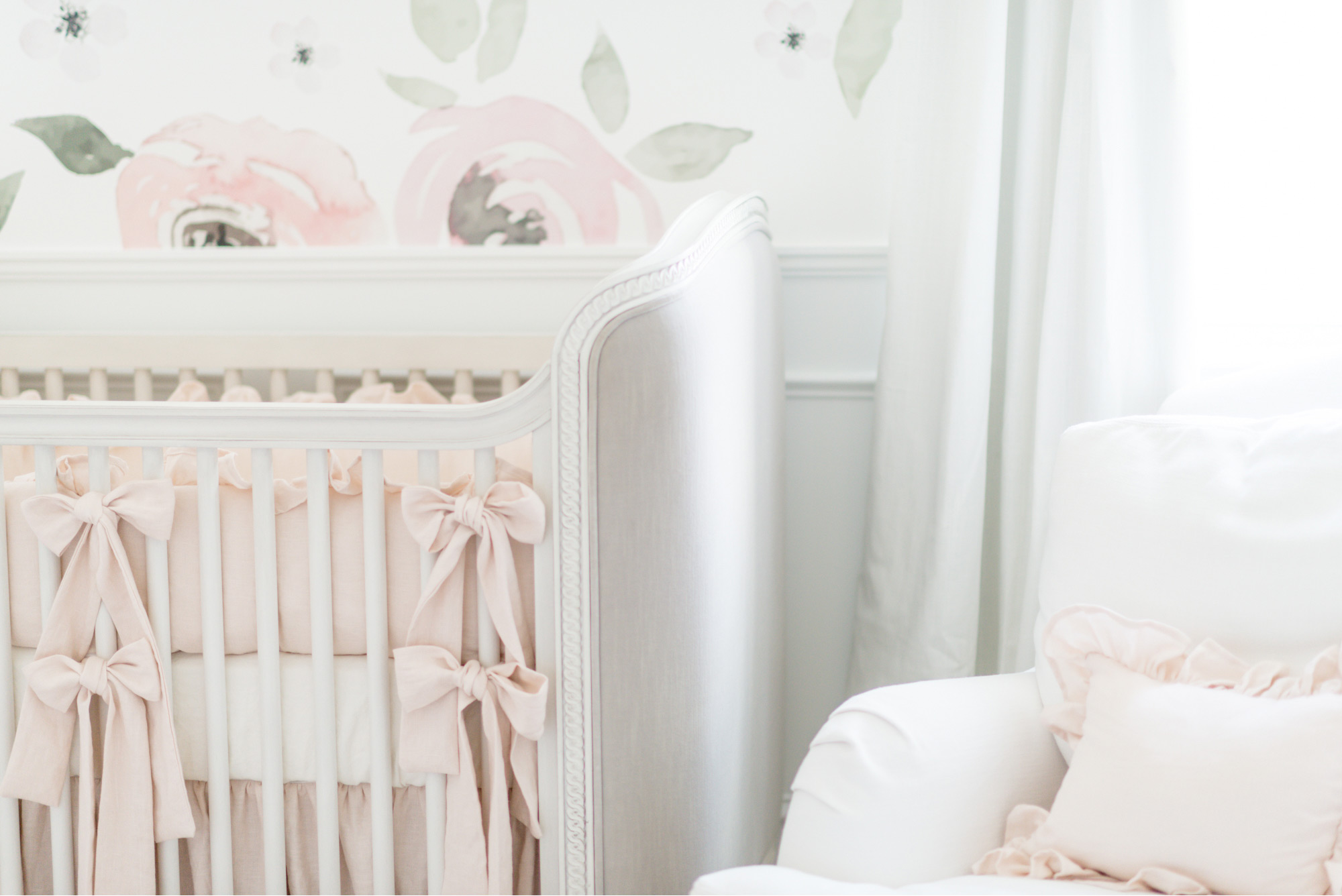 The Nursery Is Coming Along Elle Bowes Charlotte