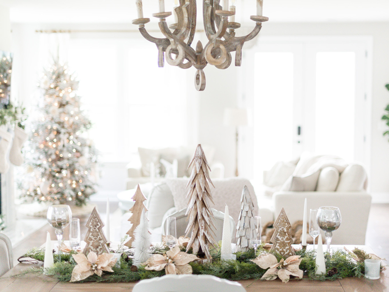 Christmas Tablescape Ideas | By Lifestyle blogger Elle Bowes