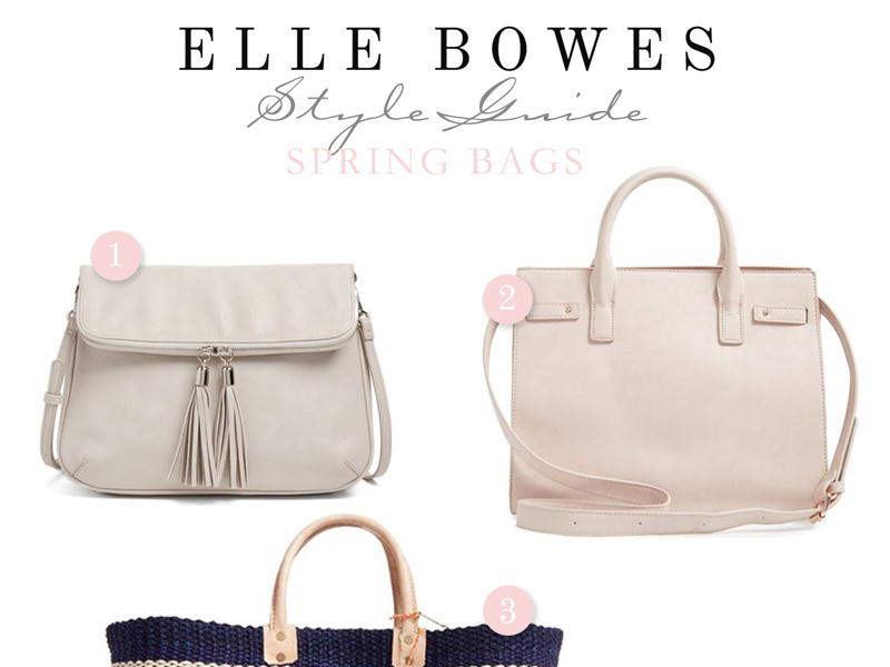 Spring Bags | By Lifestyle blogger Elle Bowes