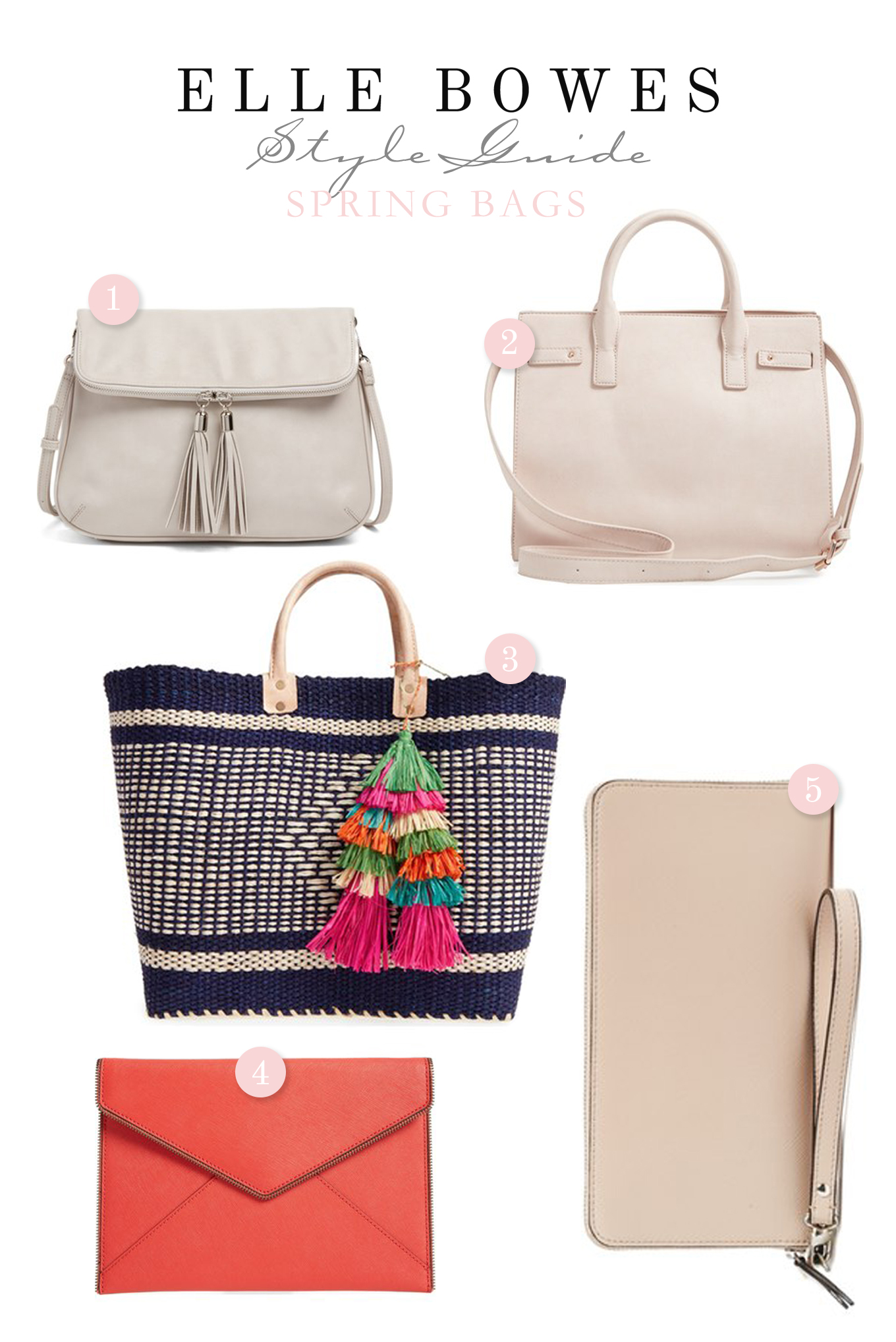 Must have spring bags! | Elle Bowes