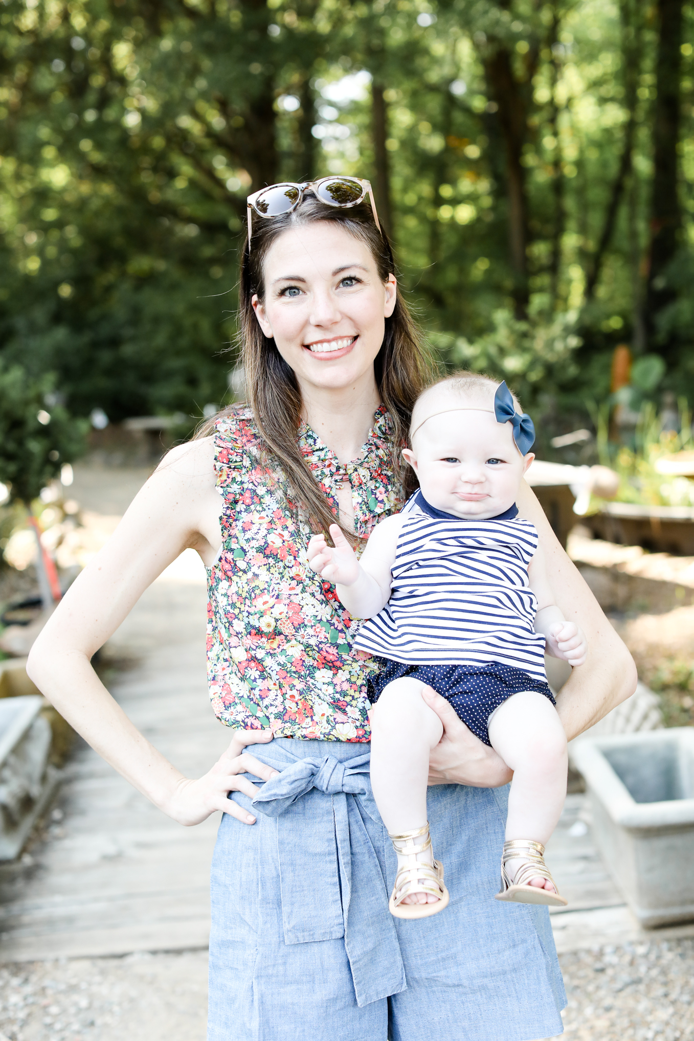 navy with floral print | Lifestyle blogger Elle Bowes shares her favorite jcrew new arrivals