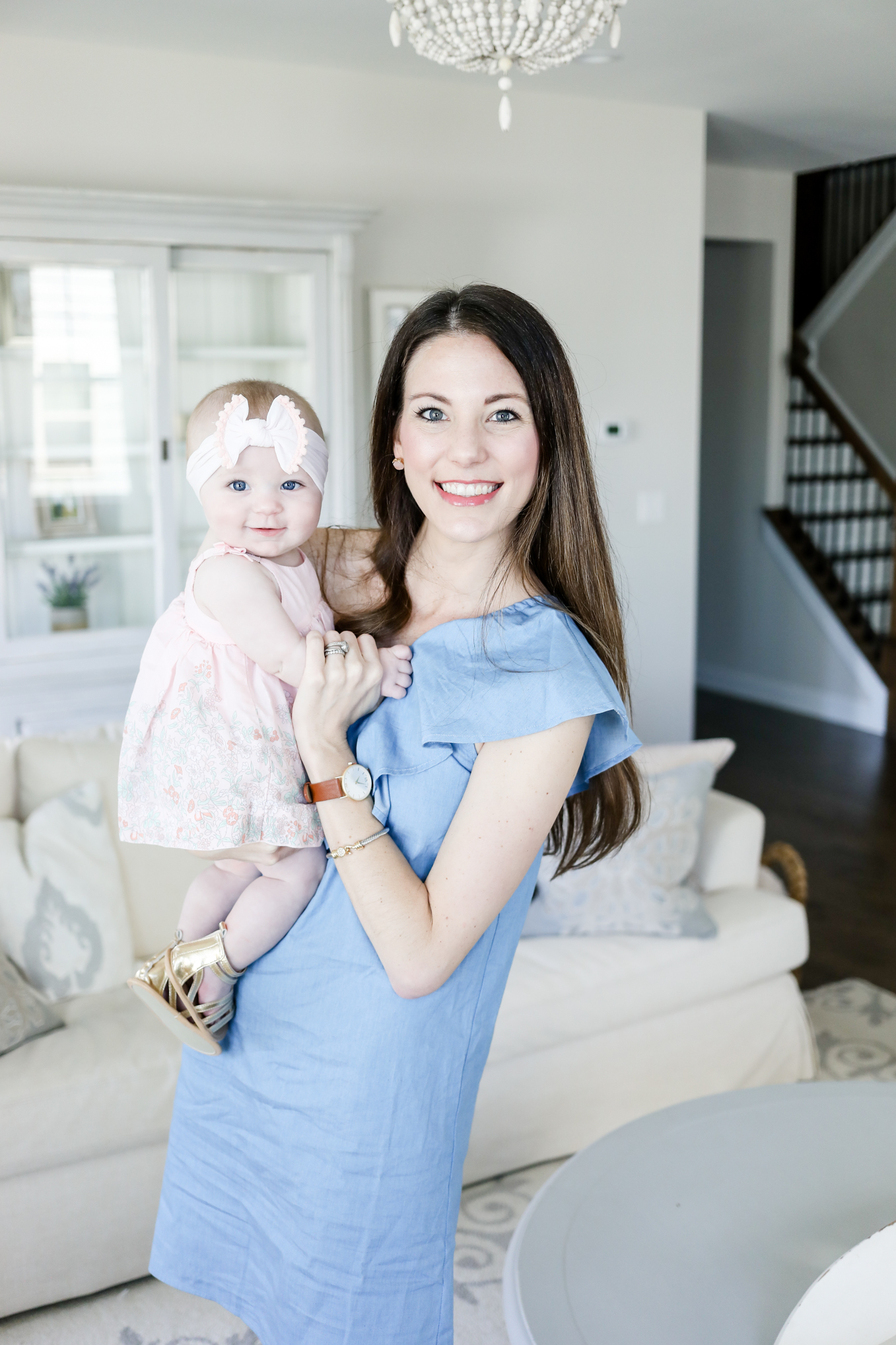 straw clutch | Lifestyle Blogger Elle Bowes shares her mother's day look