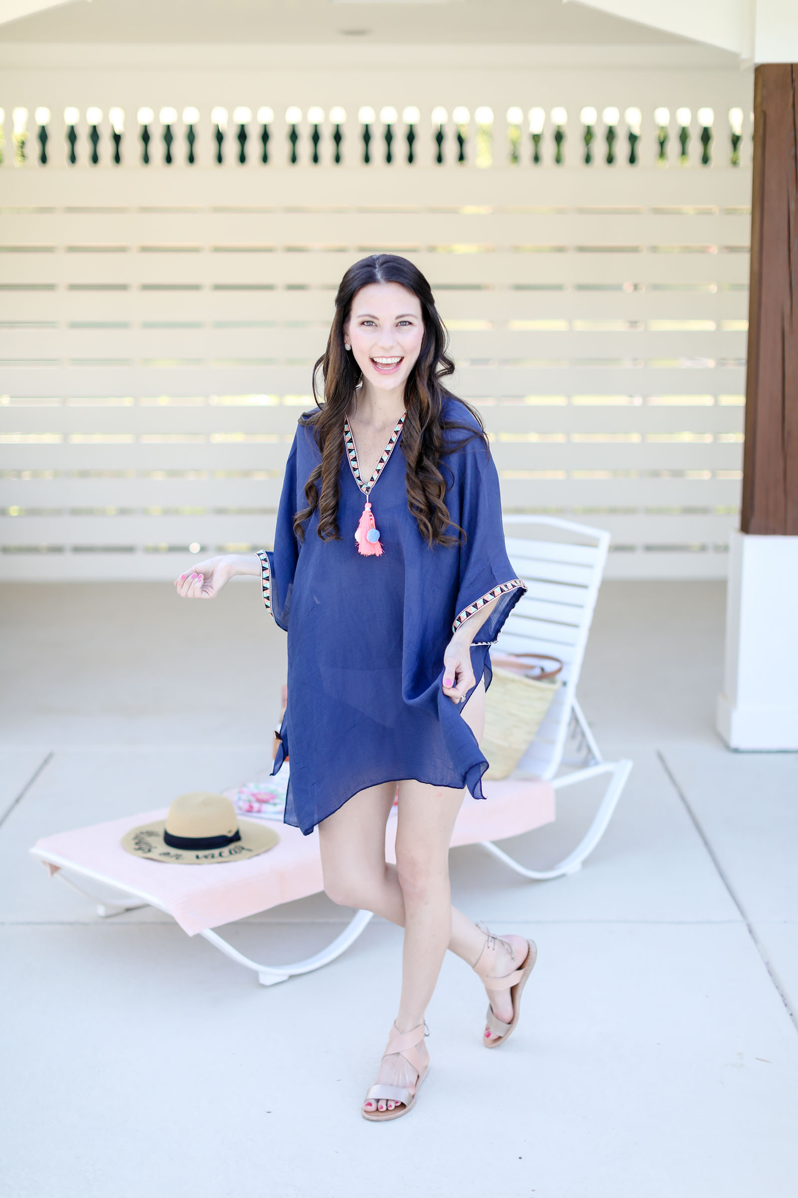 poolside accessories beach cover up | elle bowes
