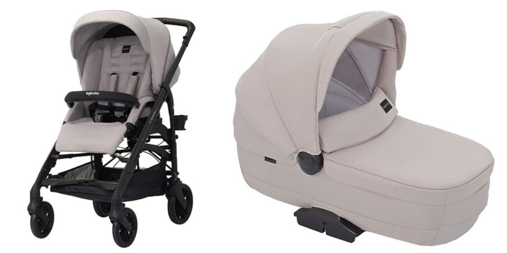 inglesina pram | classic stroller | pink blush stroller | every day joie by elle bowes