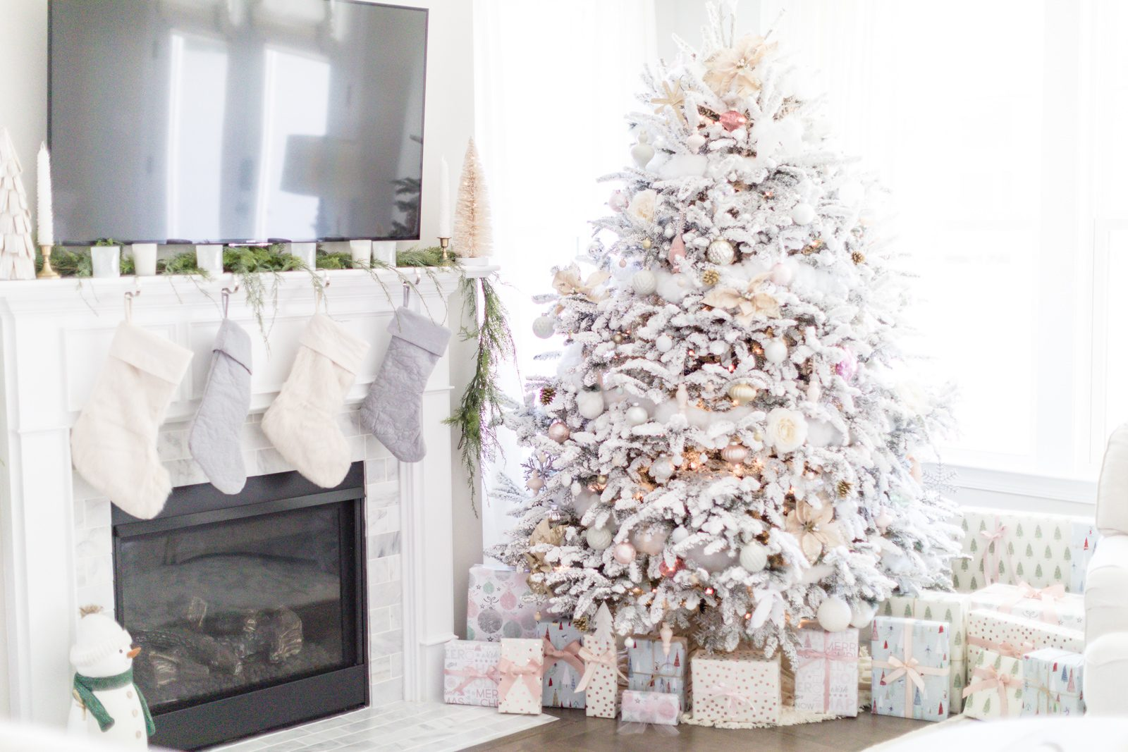 CHRISTMAS DECOR | FARMHOUSE STYLE FOR THE HOLIDAYS