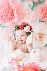 Ryann Whitney's 1st Birthday | Flower Themed Party