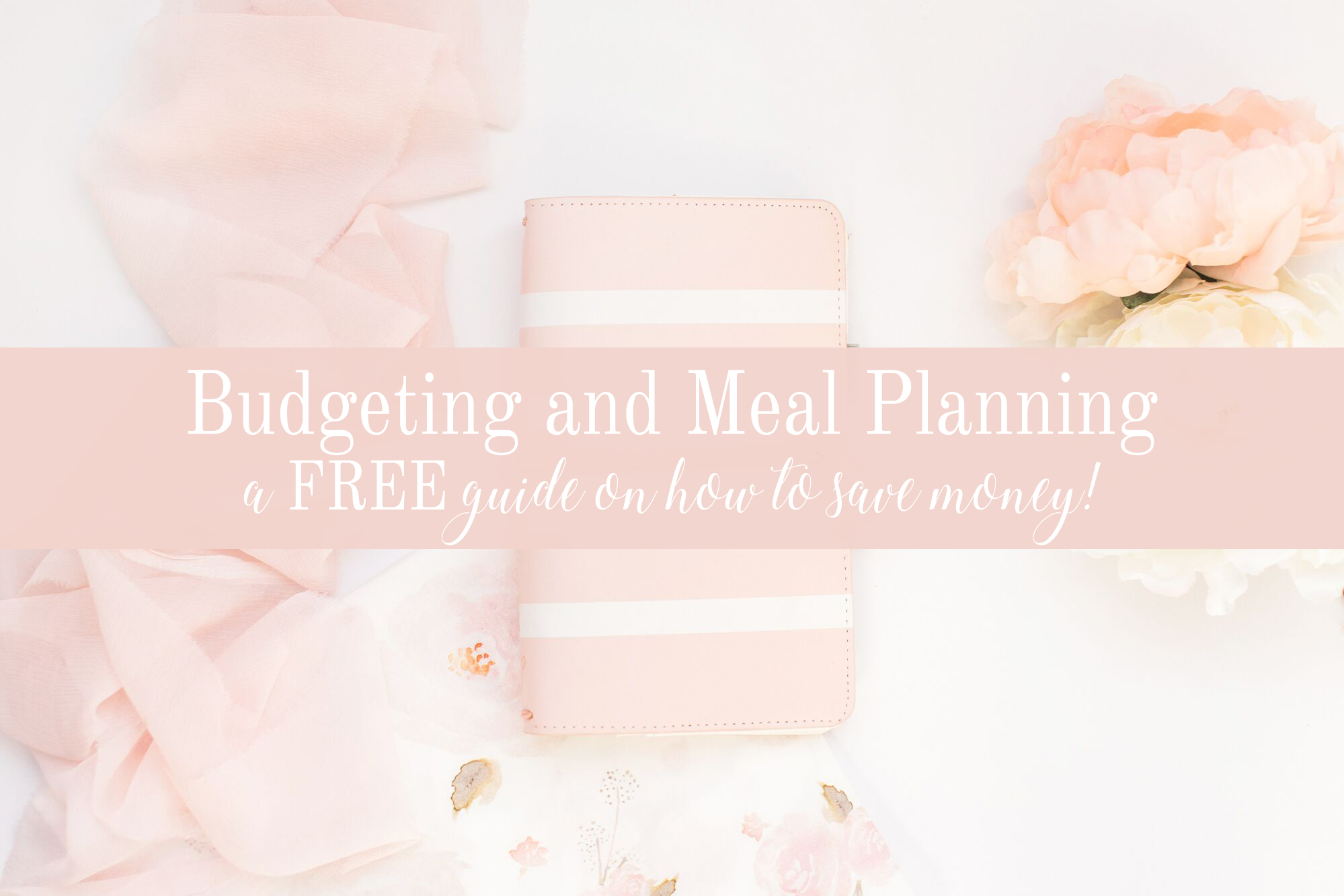 how to budget and meal plan | how to save money | elle bowes